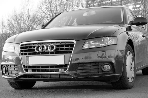 LED-Scheinwerfer-Audi