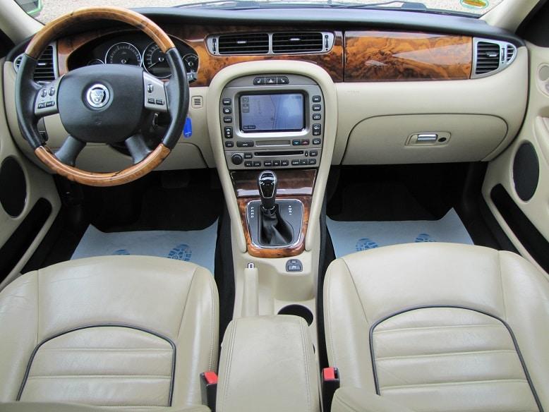 Jaguar-Innenausstattung